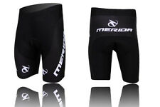 Merida Men's Cycling Shorts 3D Padded Biking Bicycle Short Pants Tights Black