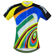 Colourful Men's Cycling Jerseys Short Sleeve Shirts MTB Bike Bicycle T-shirt Top