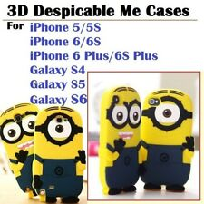 Designer Despicable Me Mini Soft Case Cover For iPhone 5S 6/Plus Galaxy S4 S5 S6