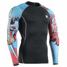 FIXGEAR CPD-B77 Compression Base Layer Skin-tight Shirts Training Gym MMA