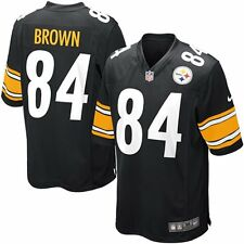 Pittsburgh Steelers Antonio Brown Youth Nike Black Game Jersey