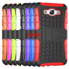 For Samsung Galaxy E7 3D Shock Skip Proof Grenade Rugged Grip Defender Hard Case