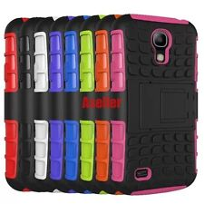 For Samsung Galaxy S4 3D Shock Skip Proof Grenade Grip Rugged Defender Hard Case