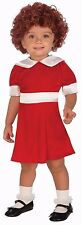 Annie Costume Little Orphan Annie Musical Red Fancy Dress Toddler Child Kids NEW