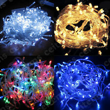 10/20/30/50/100M 100/120/180/240/480 LED Christmas Wedding Fairy String Light