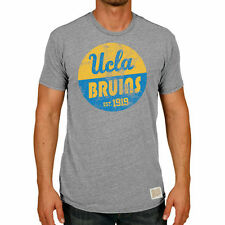 Men's Original Retro Brand Heather Gray UCLA Bruins Vintage Tri-Blend T-Shirt