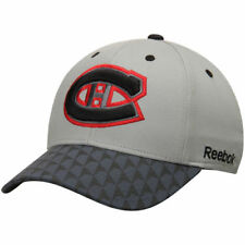 Montreal Canadiens Reebok Crosscheck 2-Tone Structured Flex Hat - Gray - NHL