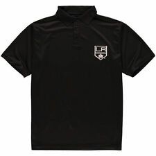 Los Angeles Kings Majestic Big & Tall Pique Polo - Black - NHL