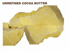 RAW COCOA BUTTER - ORGANIC 100% Pure Natural Chocolate Aroma *FRESH & FREE SHIP*