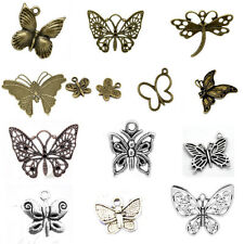 20 Butterfly Charms Pendants Animal Theme Papillon Breloque Jewelry Making