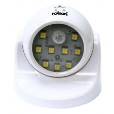 Rolson Wireless SMD Motion Sensor Adjustable Light Fix Anywhere Batteries Inc
