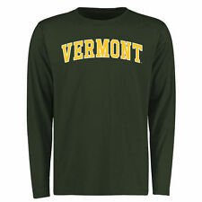 Vermont Catamounts Everyday Long Sleeve T-Shirt - Green - College