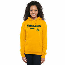 Vermont Catamounts Women's American Classic Pullover Hoodie - Gold - College