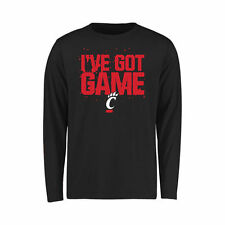 Cincinnati Bearcats Youth Got Game Long Sleeve T-Shirt - Black - NCAA