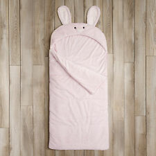 Aurora Home Bunny Rabbit Plush Faux Fur Sleeping Bag