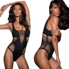 Swimsuit Bathing Monokini Women One Piece Bikini Beach Swimwear Hollow Out S1E1
