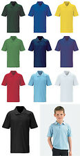 New Blue Max Mens Classic Polo Shirt Hemmed Sleeves Casual T-Shirt Top Snr