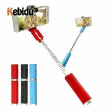 Monopod Selfie Stick Telescopic Bluetooth Wired Remote for smartphones