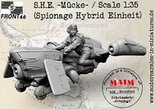 S.H.E. ~Mücke~ / 1/35 Scale resin model kit  (Spionage Hybrid Einheit)