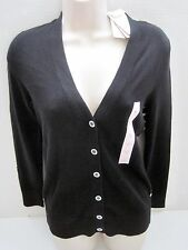 BANANA REPUBLIC Women's Black Cardigan Sweater Size Petite Small NWT