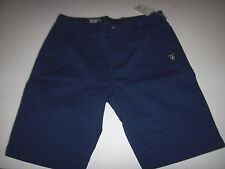 NEW VOLCOM  khaki chino walking skate shorts VMONTY modern fit blue 31 32 36 38