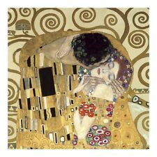 The Kiss (detail) Art Print by Klimt, Gustav Wall Art Decor New Posters Prints