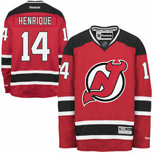 Adam Henrique New Jersey Devils Reebok Men's Home Premier Jersey - Red - NHL