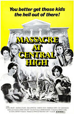 Massacre At Central High - 1976 - Movie Poster