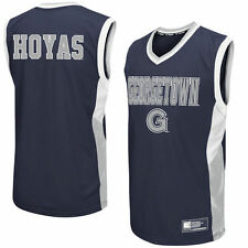Georgetown Hoyas Colosseum Fadeaway Basketball Jersey - Gray - College