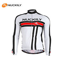 Mens Sports Bicycle Bike Long Sleeve Cycling Jersey Top Shirt Breathable Jacket
