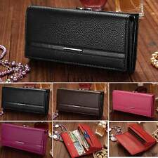 PU Leather Purse Clutch Women Wallet Long Lady Zipper Womens Organizer TXCL