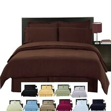 Wrinkle Free Solid MicroFiber 8-PC Bed in a Bag !