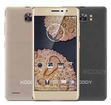 """3G/2G Quad Core Dual SIM 5"""" Smartphone Android 5.1 Lollipop Cell Phone Unlocked"""
