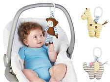 Mud Pie Safari Baby Girl / Boy Stroller Toy Elephant, Giraffe Or Monkey 2112215