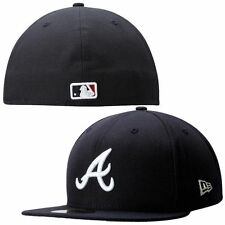 Atlanta Braves New Era Metal Gamer 59FIFTY Fitted Hat - Navy - MLB