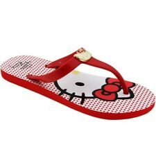 $42 Hello Kitty flats shoes Womens Zoe (red)