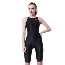 Women Black Scuba & Snorkeling Wetsuit Rash Guard Jump Surfing Surf Clothing New