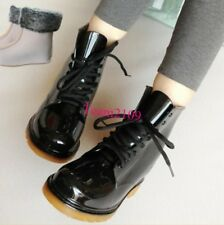 New Womens Non-Slip Rain Boots Lace Up Ladies Rubber Waterproof Boots