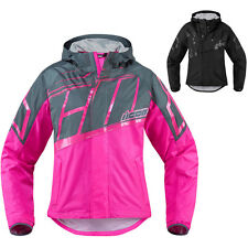 Icon PDX 2 Womens Waterproof Street Riding Motorcycle Jackets