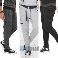 Men's SweatPants Harem Dance Baggy Jogging Hip Hop Sport Trousers Slacks Pants