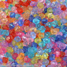 Wholesale Lots Mixed Acrylic Bicone Beads 5301 5x5mm