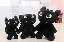 How To Train Your Dragon Figure Toothless Night Fury Kid Plush Stuffed Toy Doll