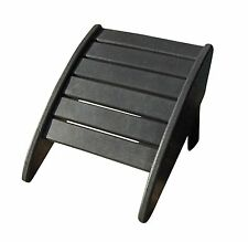 Phat Tommy Recycled Poly Resin Folding Ottoman matches Adiron.  Patio Furniture