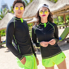 Unisex Men Women Hot Scuba & Snorkeling Wetsuit Rash Guard Surfing Surf Clothing