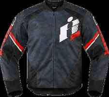 Mens Icon Red Overlord Textile Motorcycle Riding Jacket Harley Davidson