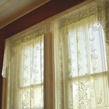 """Heritage Lace Victorian Rose Insert 36"""" Curtain Valance"""