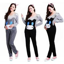New Pregnant Women Overalls Maternity Suspenders Trousers Rabbit Jumpsuits Pants