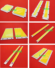 3 5 10 20 50W COB LED Square/ Strip Light Lamp Bead Chip diy DC 12/24/36V