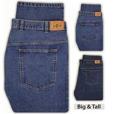 Harbor Bay Jeans for Big & Tall Men Fixed Waist - Sizes 40 - 66