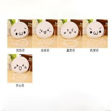 Women Cute Cartoon Expression Silicone Jelly Wallet Bag Keys Pouch Coin Purse SM